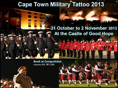 Cape Town  Military Tattoo 2013 flyer
