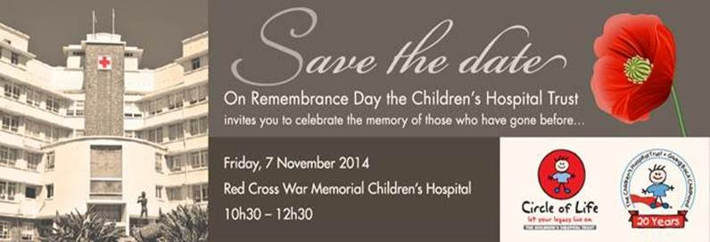 Day of Remembrance at the Red Cross War Memorial Children's Hospital
